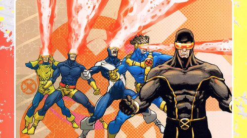 X-Men wallpaper containing anime entitled Cyclops / Scott Summers wallpapers