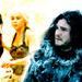 Daenerys and Jon - daenerys-targaryen icon