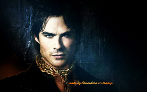 Damon Salvatore wolpeyper titled Damon Salvatore ✯