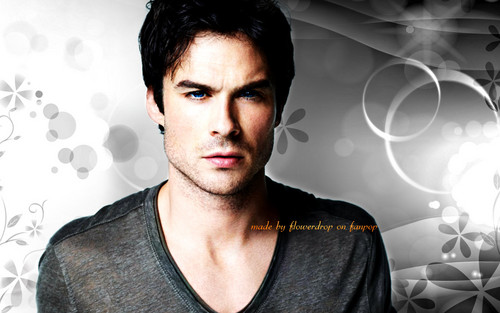 Damon Salvatore پیپر وال containing a portrait entitled Damon Salvatore ✯