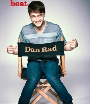 Daniel Radcliffe Cover By heat Magazine (Fb.com/DanielJacobRadcliffeFanClub)