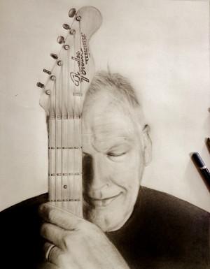 David Gilmour Drawing