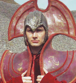 David in Gallifreyan Costume