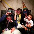 David villa's family , new year eve