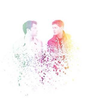 Dean and Castiel ✧