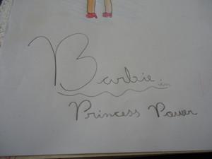 Desenho que eu fiz da বার্বি
