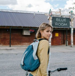Dianna BTS of Bare Movie