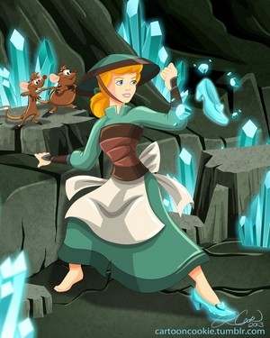 disney Princess Avatar: Earth Bender cenicienta