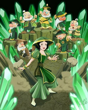 disney Princess Avatar: Earth Bender Snow White