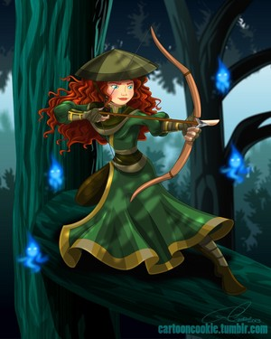 ディズニー Princess Avatar: Freedom Fighter Merida