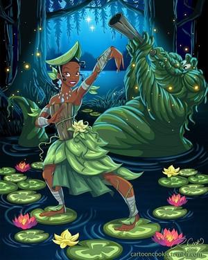 디즈니 Princess Avatar: Swamp Bender Tiana