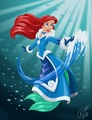 Disney Princess Avatar: Water Bender Ariel