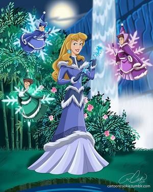 디즈니 Princess Avatar: Water Tribe Aurora