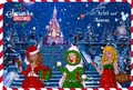disney Princess natal Card