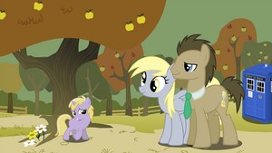 Doctor Whooves And Family