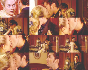 Doctor who and Reinette kiss