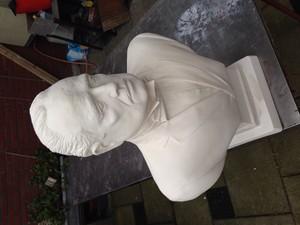 Don Corleone sculpture