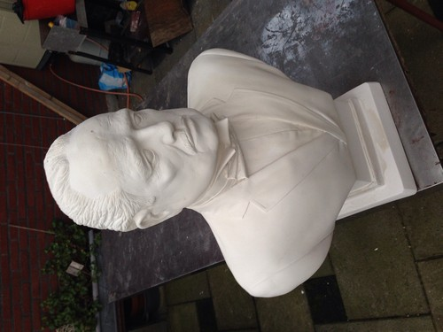 The Godfather Trilogy wallpaper entitled Don Vito Corleone Sculpture