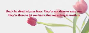 Don't be Afraid - Banner
