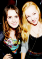 Dove Cameron and Laura Morano