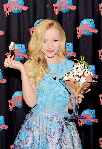 Dove Cameron wallpaper probably containing a bouquet, a sundress, and a dress entitled Dove Cameron