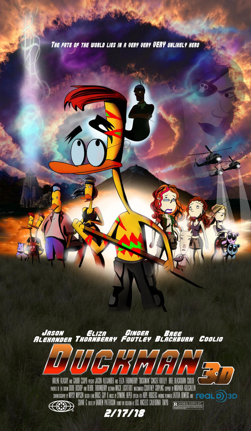 Duckman Movie (Poster)