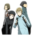 Durarara! season 2 key visuals! - durarara photo