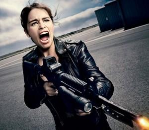 EW's Terminator Genisys' photoshoot