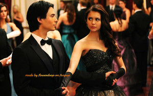 Elena and Katherine hình nền