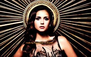 Elena and Katherine wallpaper
