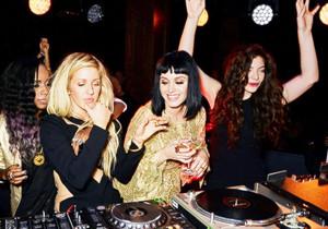 Ellie, Katy and Lorde