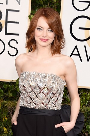 Emma Stone - 72nd Annual Golden Globe Awards