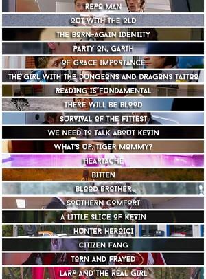 Episode titles
