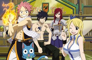 Fairy Tail achtergrond 1