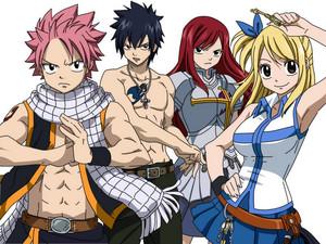 Fairy Tail achtergrond 2