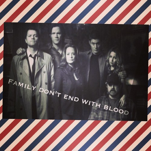 Supernatural Quotes Family Don T End With Blood: Supernatural Images Family Don't End With Blood HD