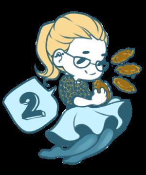 Felicity's Hanukkah: 日 2!