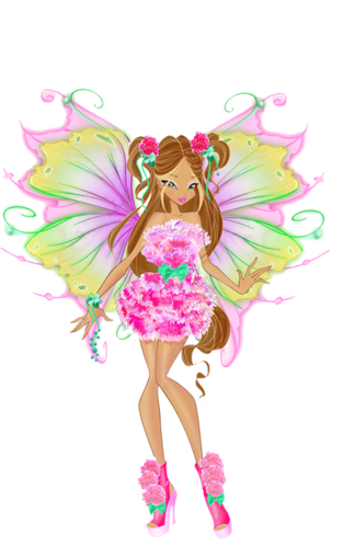 El Club Winx fondo de pantalla probably with a bouquet titled Flora Mythix