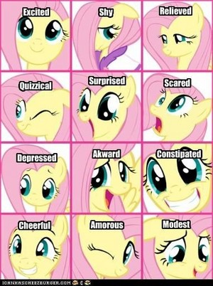 Fluttershy Emotions
