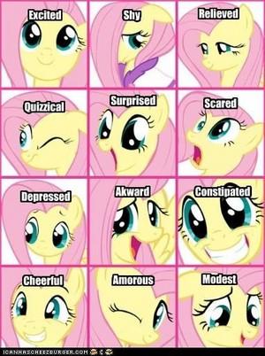 Fluttershy Emotions