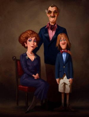 Fred's Family Portrait