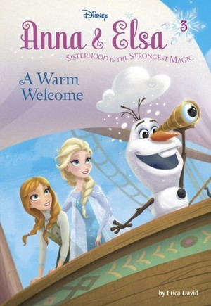 겨울왕국 - Anna and Elsa A Warm Welcome Book
