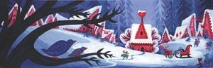 Frozen - Uma Aventura Congelante Early Concept Art