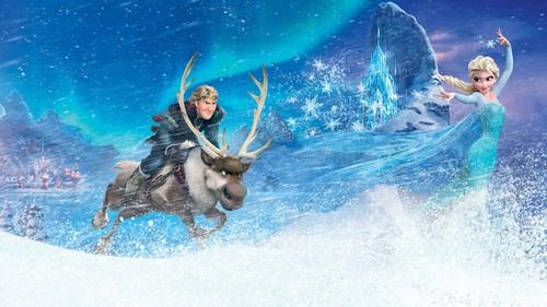 Elsa the Snow Queen hình nền probably with a water called Nữ hoàng băng giá hình nền