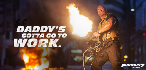 Fast and Furious wallpaper possibly containing a concert titled Furious 7 - Hobbs