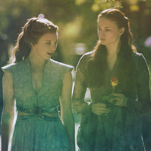 Sansa and Margaery