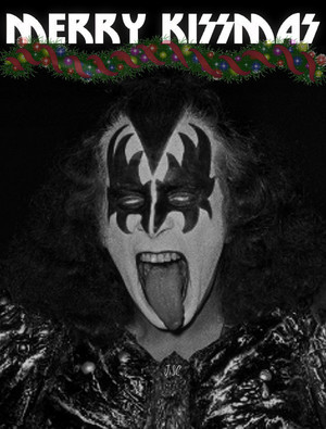 Gene Simmons...Merry KISSmas
