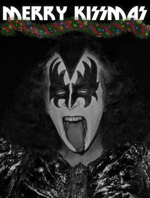 Gene Simmons...Merry KISSmas