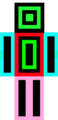 Geometry Dash Skin - minecraft photo