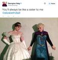 Georgina's Tweet  - once-upon-a-time photo
